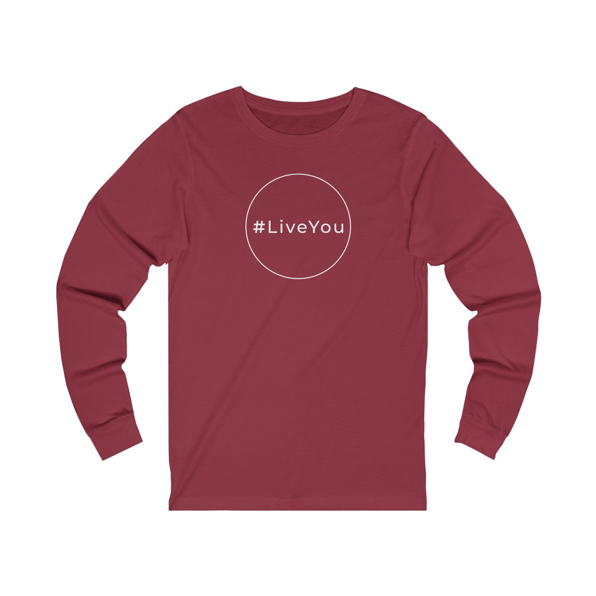 #LiveYou Unisex Jersey Long Sleeve Tee