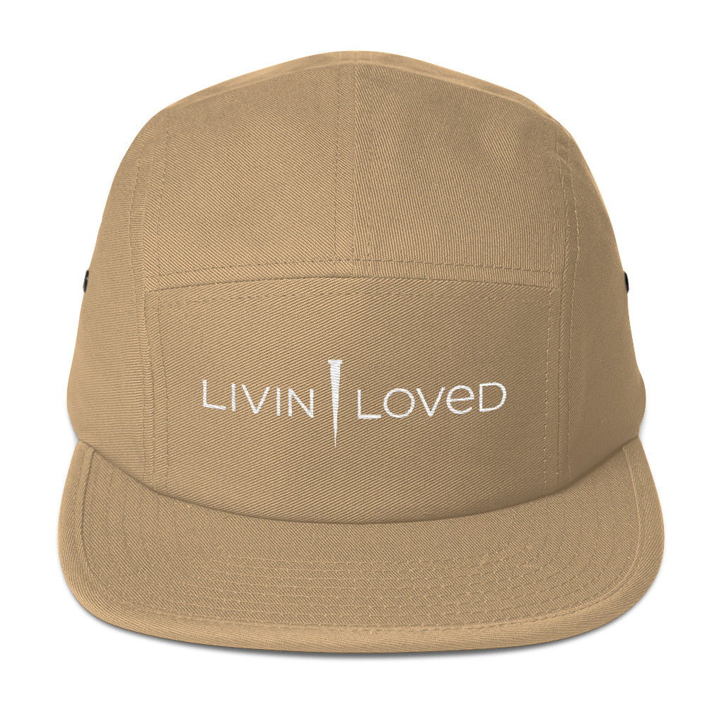 Livin Loved Five Panel Cap