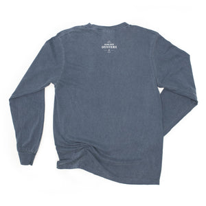 Oysters Denim Blue Long Sleeve T-Shirt