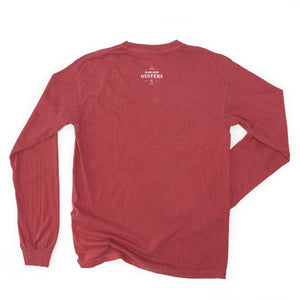 Oysters Crimson Long Sleeve T-Shirt