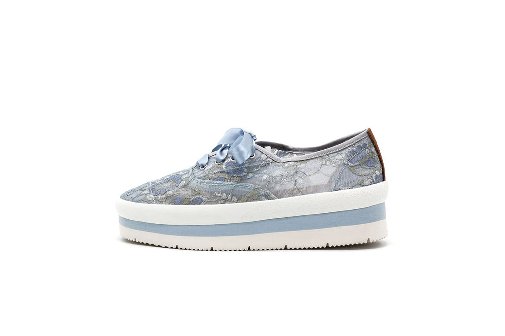 women fashion comfort platform sneaker