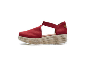 Espadrille Wedges -Joy and Mario