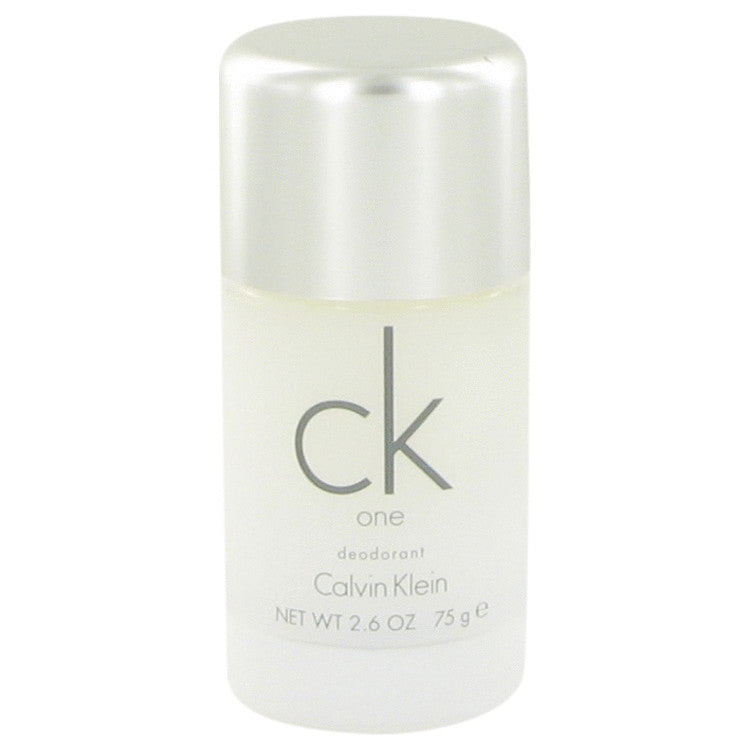 CK ONE by Calvin Klein Deodorant Stick 2.6 oz for Unisex