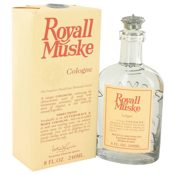 ROYALL MUSKE by Royall Fragrances All Purpose Lotion - Cologne 8 oz for Men