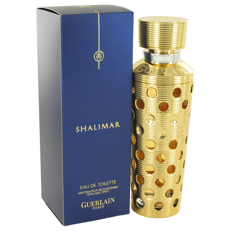 SHALIMAR by Guerlain Eau De Toilette Spray Refillable 3.1 oz for Women