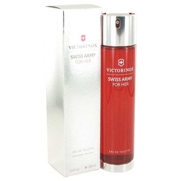 SWISS ARMY by Victorinox Eau De Toilette Spray 3.4 oz for Women