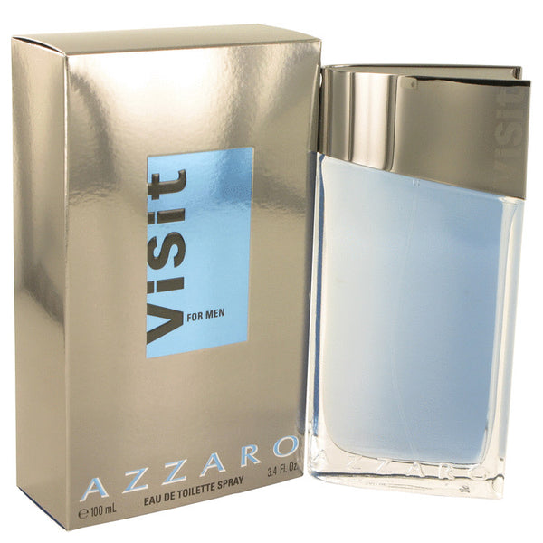 Visit by Azzaro Eau De Toilette Spray 3.4 oz for Men