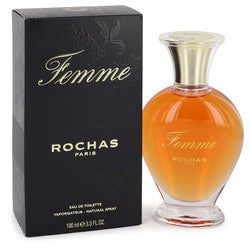 FEMME ROCHAS by Rochas Eau De Toilette Spray 3.4 oz for Women