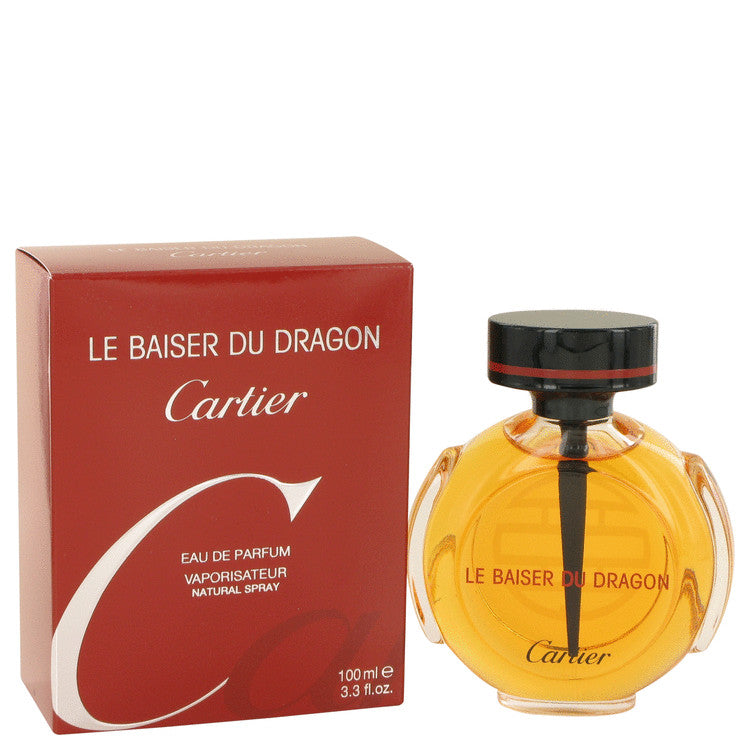 Le Baiser Du Dragon by Cartier Eau De Parfum Spray 3.3 oz for Women