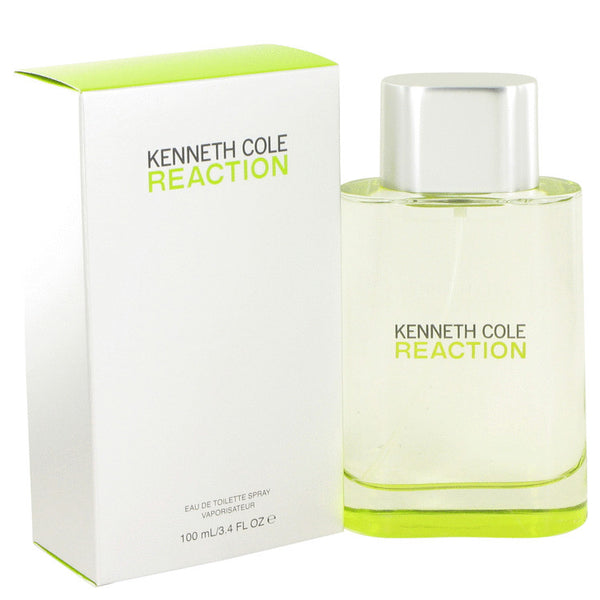 Kenneth Cole Reaction by Kenneth Cole Eau De Toilette Spray 3.4 oz for Men