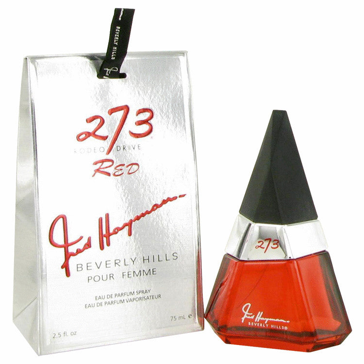 273 Red by Fred Hayman Eau De Parfum Spray 2.5 oz for Women