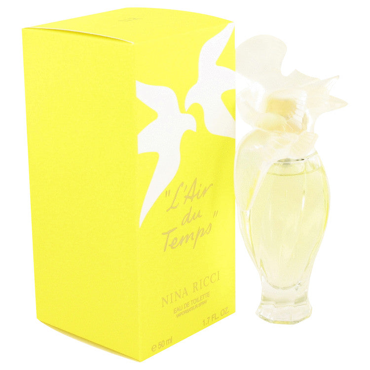 L'AIR DU TEMPS by Nina Ricci Eau De Toilette Spray Bird Cap for Women