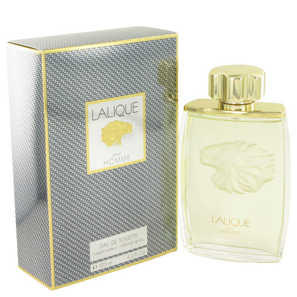 LALIQUE by Lalique Eau De Toilette Spray (Lion) 4.2 oz for Men