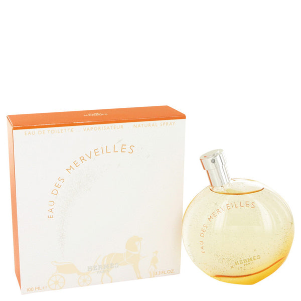 Eau Des Merveilles by Hermes Eau De Toilette Spray for Women
