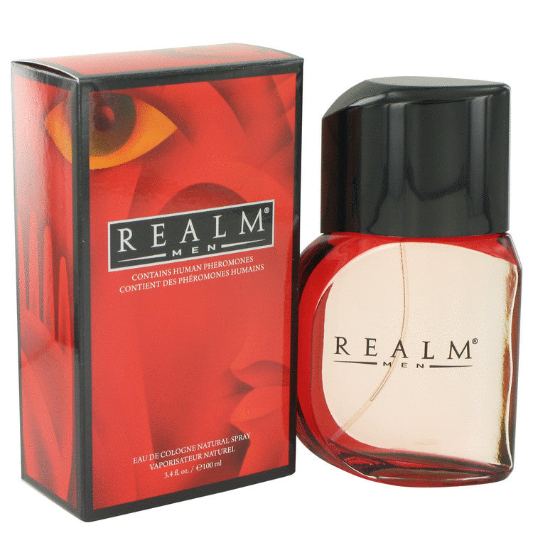 REALM by Erox Eau De Toilette - Cologne Spray 3.4 oz for Men