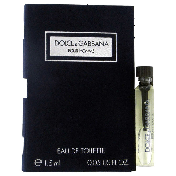 DOLCE & GABBANA by Dolce & Gabbana Vial (sample) .06 oz for Men