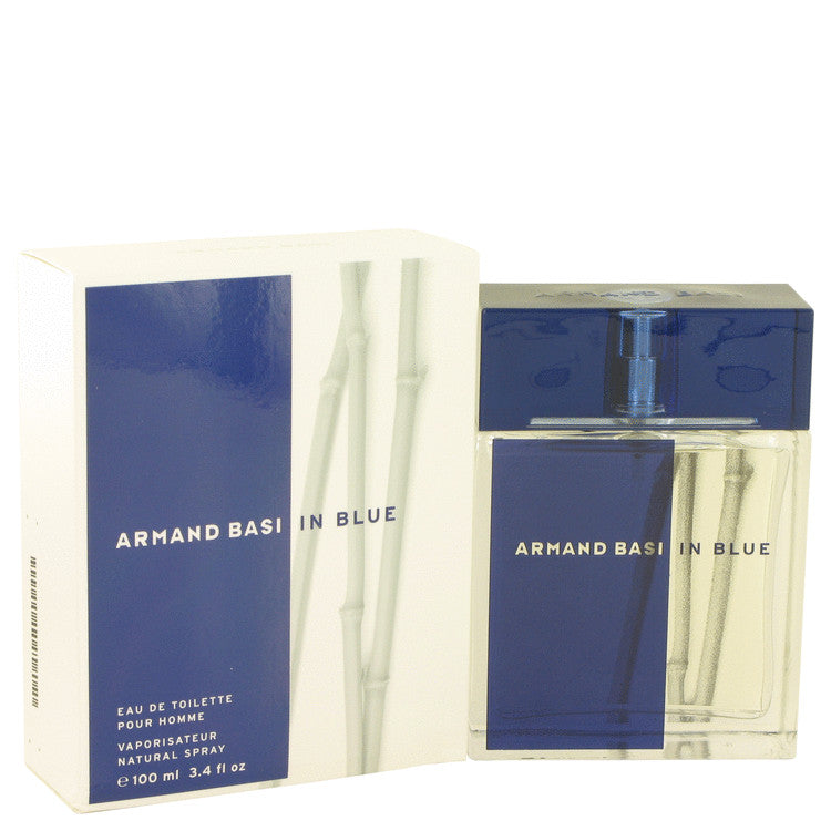 Armand Basi In Blue by Armand Basi Eau De Toilette Spray 3.4 oz for Men