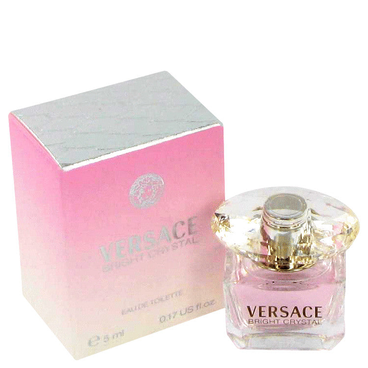 Bright Crystal by Versace Mini EDT .17 oz for Women