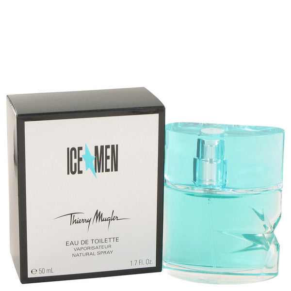 Ice Men by Thierry Mugler Eau De Toilette Spray 1.7 oz for Men