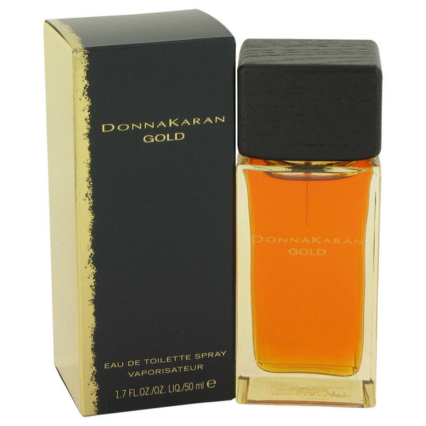 Donna Karan Gold by Donna Karan Eau De Toilette Spray 1.7 oz for Women