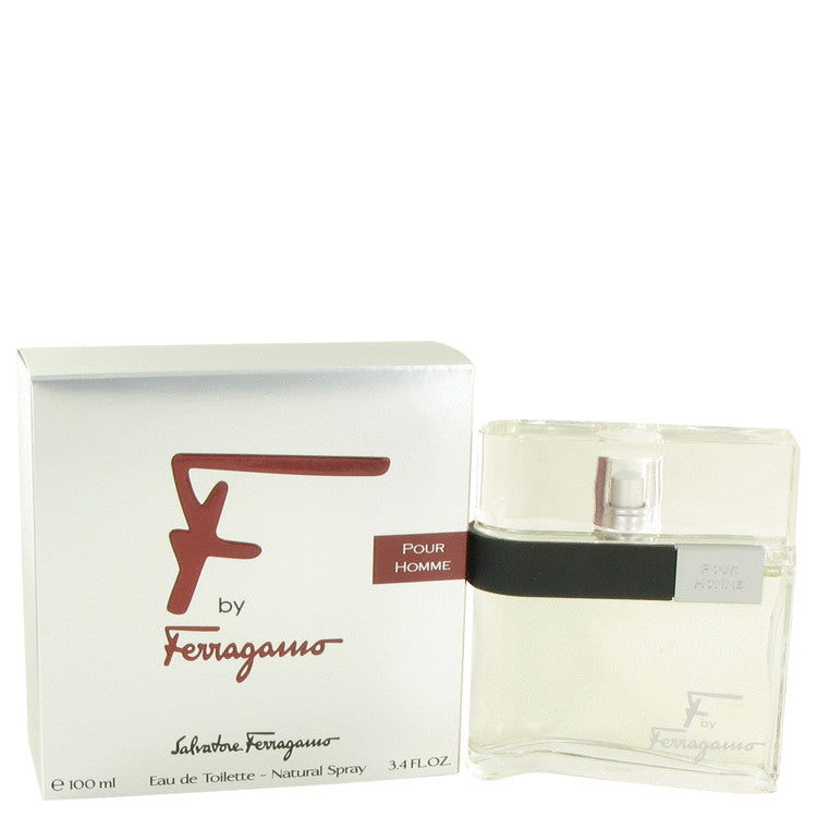 F by Salvatore Ferragamo Eau De Toilette Spray for Men