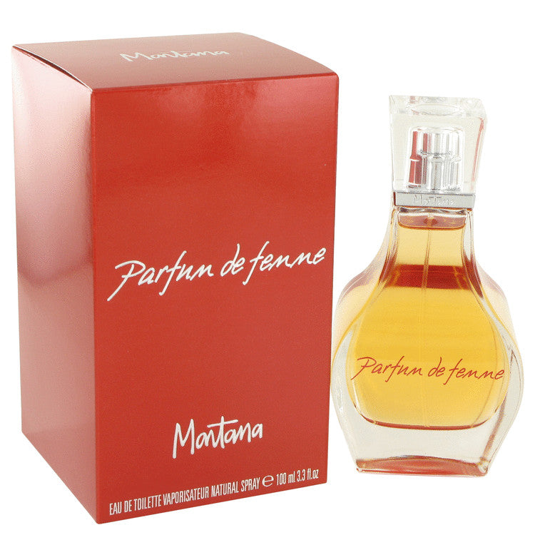 Montana Parfum De Femme by Montana Eau De Toilette Spray 3.3 oz for Women
