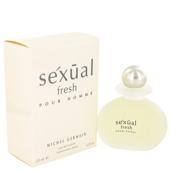 Sexual Fresh by Michel Germain Eau De Toilette Spray 4.2 oz for Men
