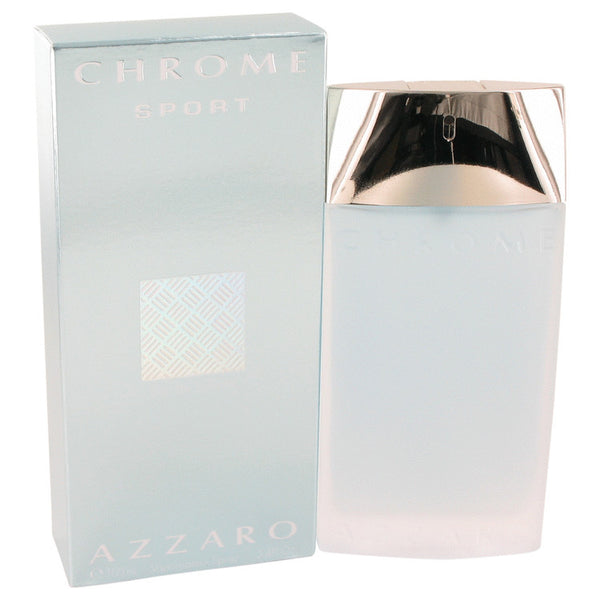 Chrome Sport by Azzaro Eau De Toilette Spray 3.4 oz for Men