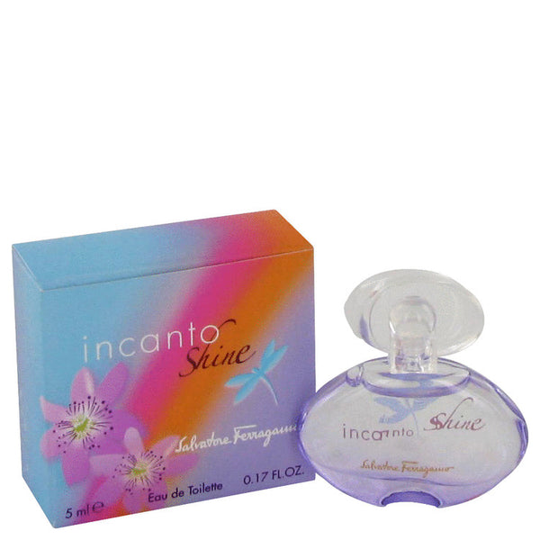 Incanto Shine by Salvatore Ferragamo Mini EDT .17 oz for Women