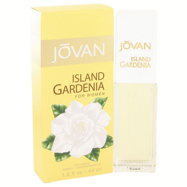 Jovan Island Gardenia by Jovan Cologne Spray 1.5 oz for Women