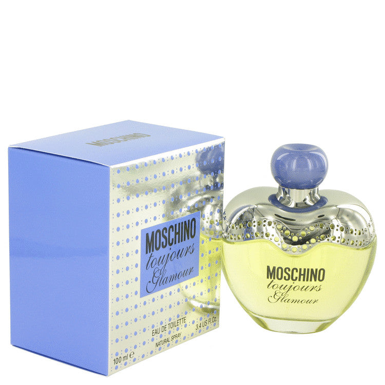Moschino Toujours Glamour by Moschino Eau De Toilette Spray 3.4 oz for Women