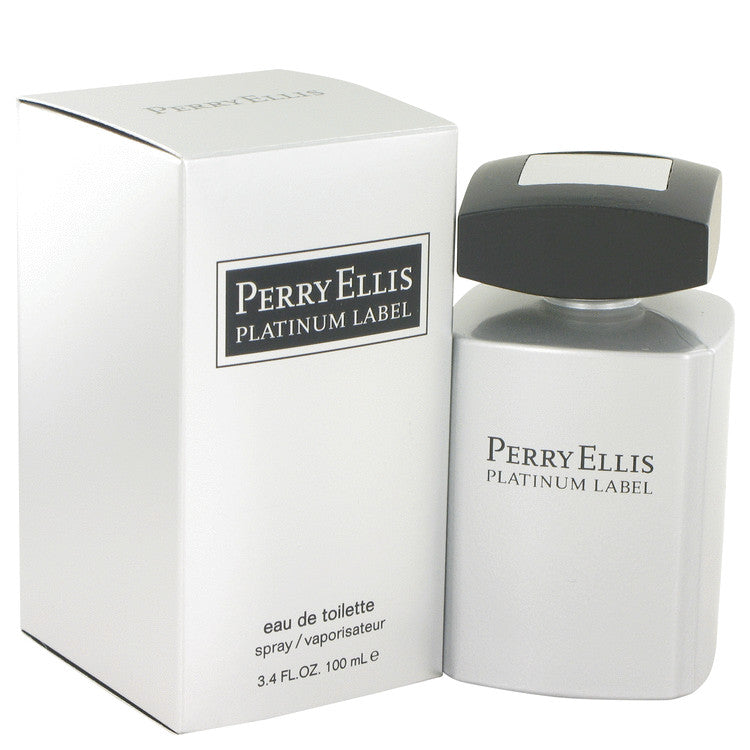 Perry Ellis Platinum Label by Perry Ellis Eau De Toilette Spray 3.4 oz for Men