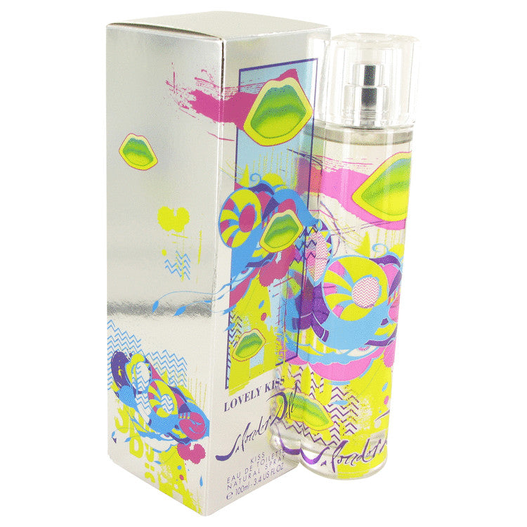 Lovely Kiss by Salvador Dali Eau De Toilette Spray 3.4 oz for Women
