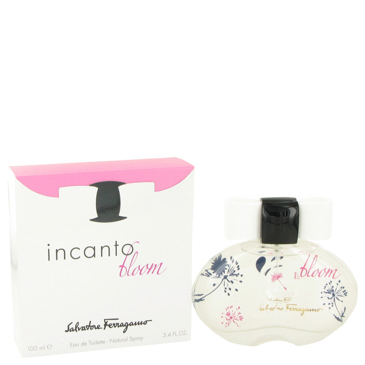 Incanto Bloom by Salvatore Ferragamo Eau De Toilette Spray (New Packaging) 3.4 oz for Women