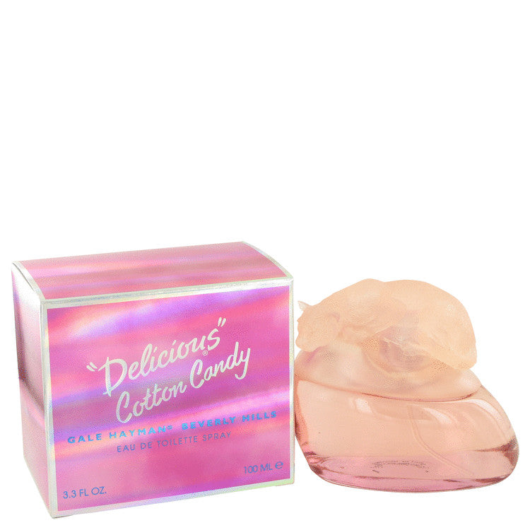 Delicious Cotton Candy by Gale Hayman Eau De Toilette Spray 3.3 oz for Women