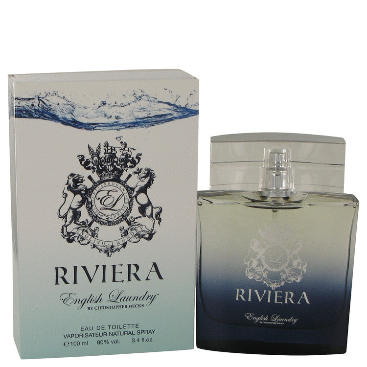 Riviera by English Laundry Eau De Toilette Spray 3.4 oz for Men