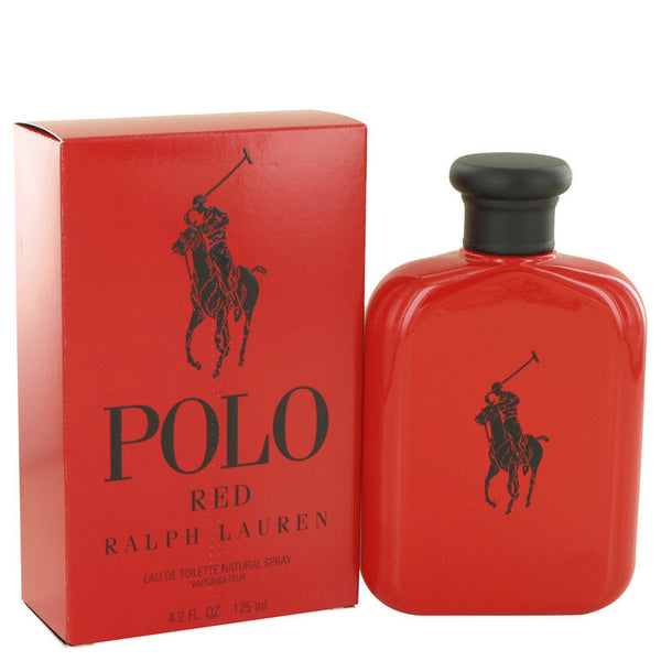 Polo Red by Ralph Lauren Eau De Toilette Spray for Men