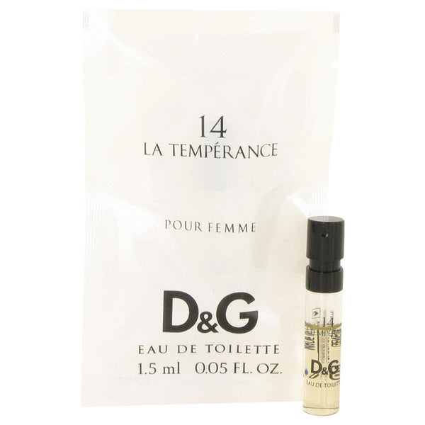 La Temperance 14 by Dolce & Gabbana Vial (Sample) .05 oz for Women