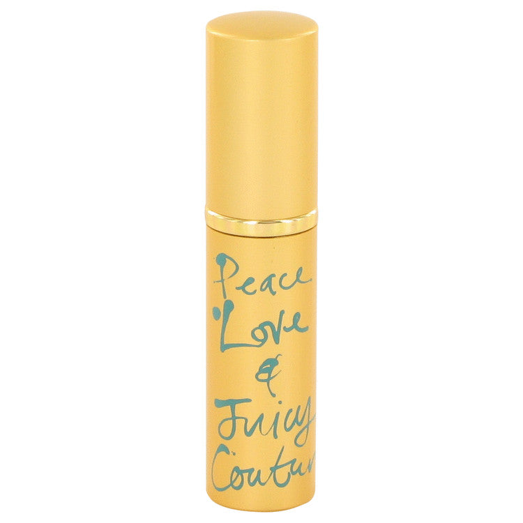 Peace Love & Juicy Couture by Juicy Couture Mini EDP Spray .13 oz for Women