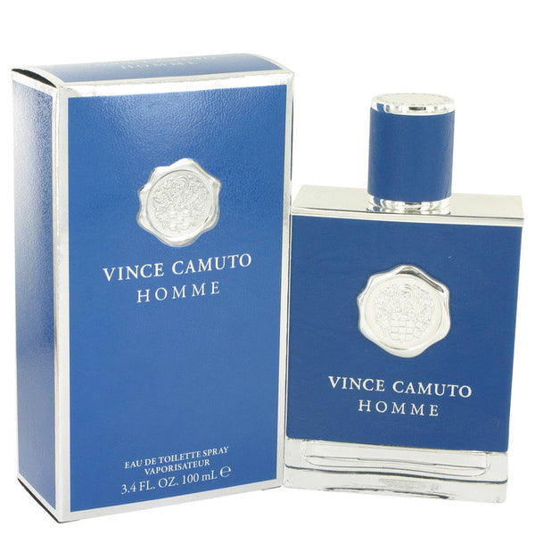 Vince Camuto Homme by Vince Camuto Eau De Toilette Spray 3.4 oz for Men