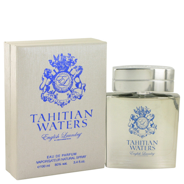 Tahitian Waters by English Laundry Eau De Parfum Spray 3.4 oz for Men