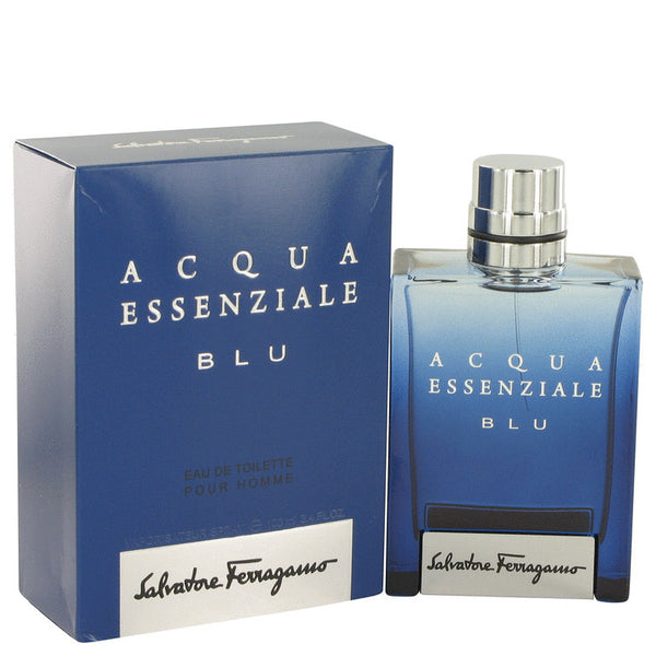Acqua Essenziale Blu by Salvatore Ferragamo Eau De Toilette Spray for Men