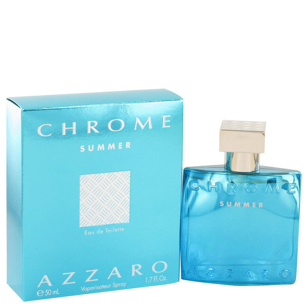 Chrome Summer by Azzaro Eau De Toilette Spray 1.7 oz for Men