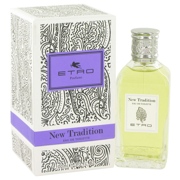 New Traditions by Etro Eau De Toilette Spray (Unisex) 3.4 oz for Women