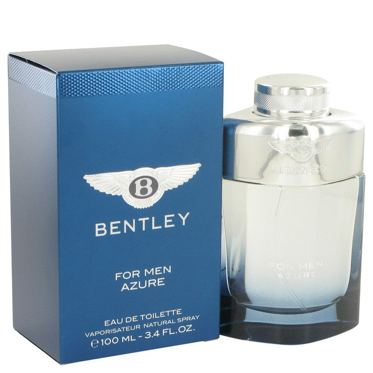 Bentley Azure by Bentley Eau De Toilette Spray 3.4 oz for Men