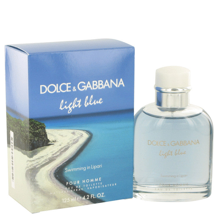 Light Blue Swimming in Lipari by Dolce & Gabbana Eau De Toilette Spray for Men