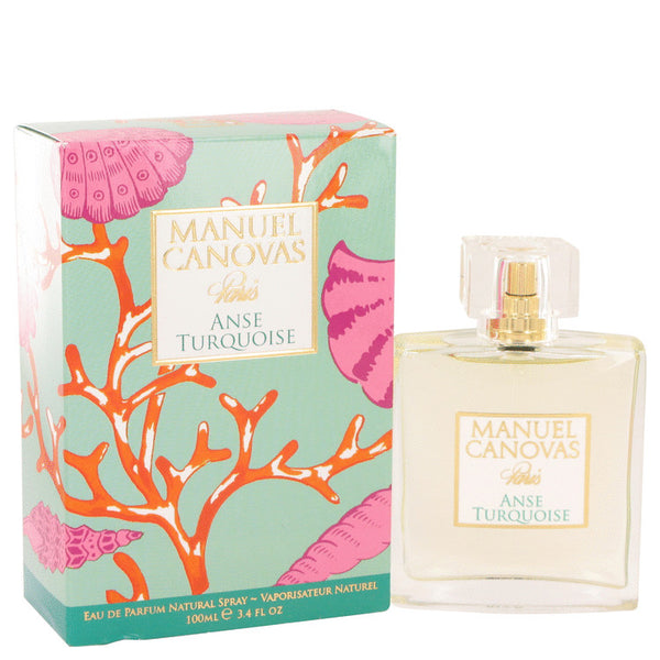 Anse Turquoise by Manuel Canovas Eau De Parfum Spray 3.4 oz for Women