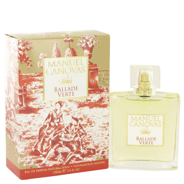 Ballade Verte by Manuel Canovas Eau De Parfum Spray 3.4 oz for Women