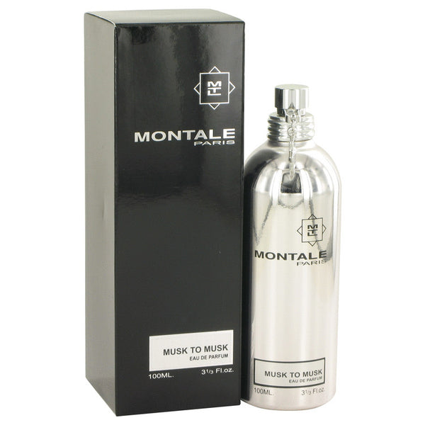 Montale Musk To Musk by Montale Eau De Parfum Spray 3.4 oz (Unisex)