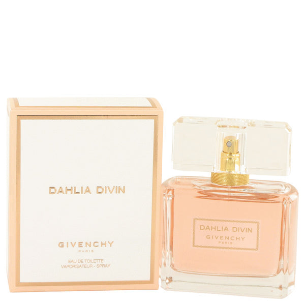 Dahlia Divin by Givenchy Eau De Toilette Spray 2.5 oz for Women